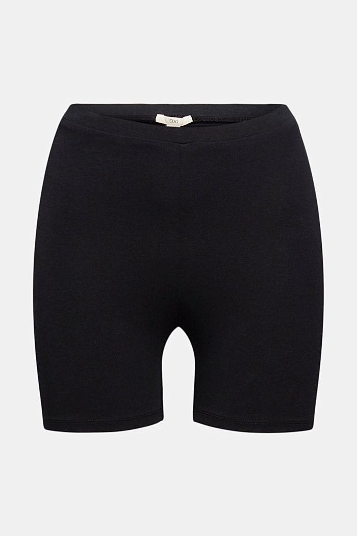 Shorts knitted, BLACK, detail image number 6