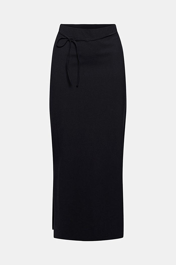 Jersey midi skirt made of organic cotton