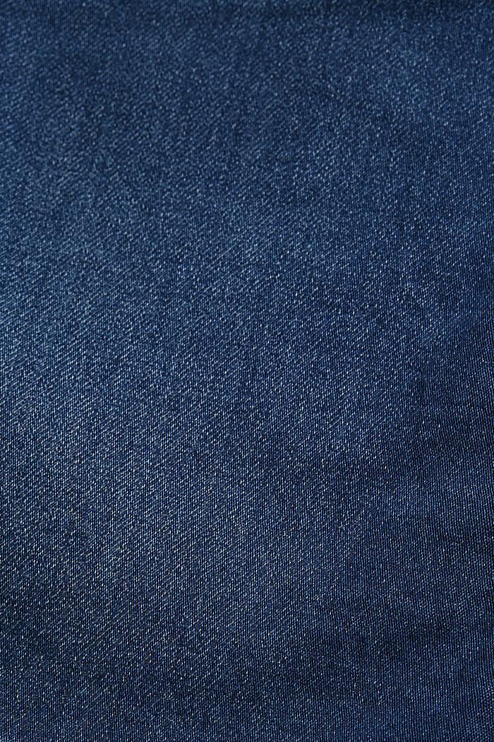 Jeansrock in Jogger-Qualität, BLUE DARK WASHED, detail image number 4