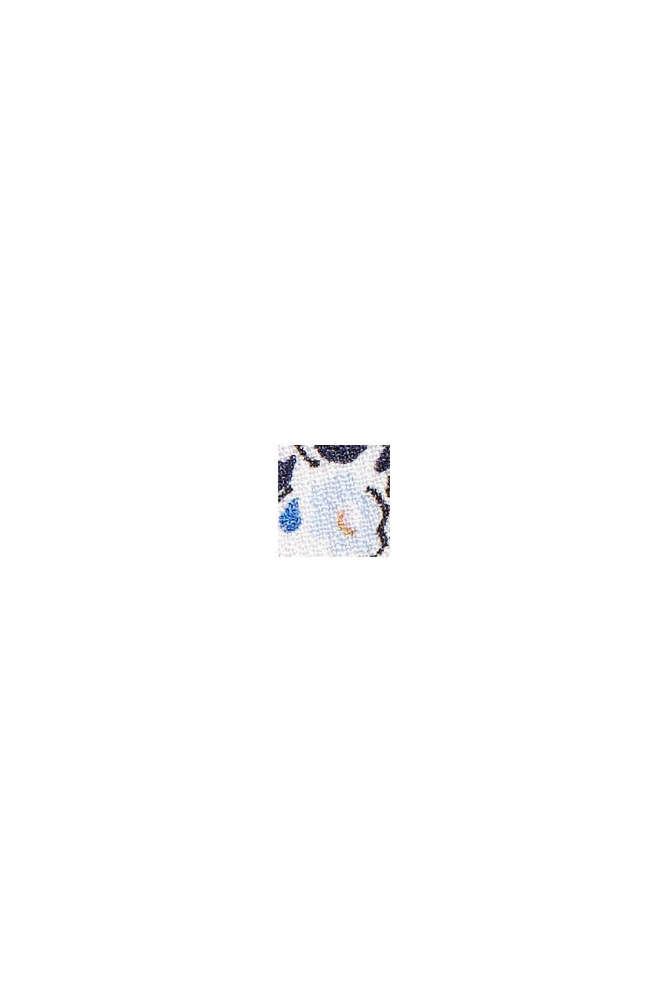 Mönstrad klänning av LENZING™ ECOVERO™, OFF WHITE, swatch