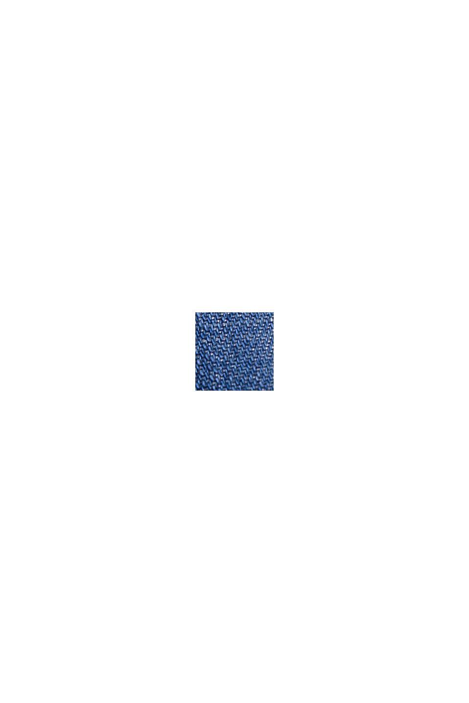 Aus TENCEL™: tailliertes Denim-Kleid, BLUE MEDIUM WASHED, swatch