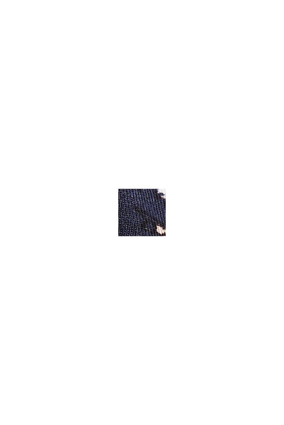 Jerseykleid aus LENZING™ ECOVERO™, NAVY, swatch