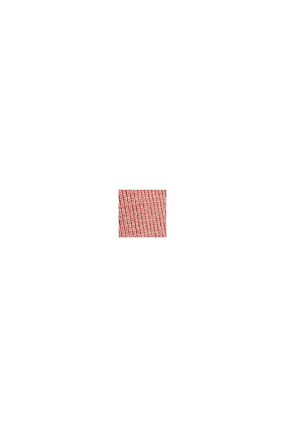Jersey jurk van LENZING™ ECOVERO™, CORAL, swatch