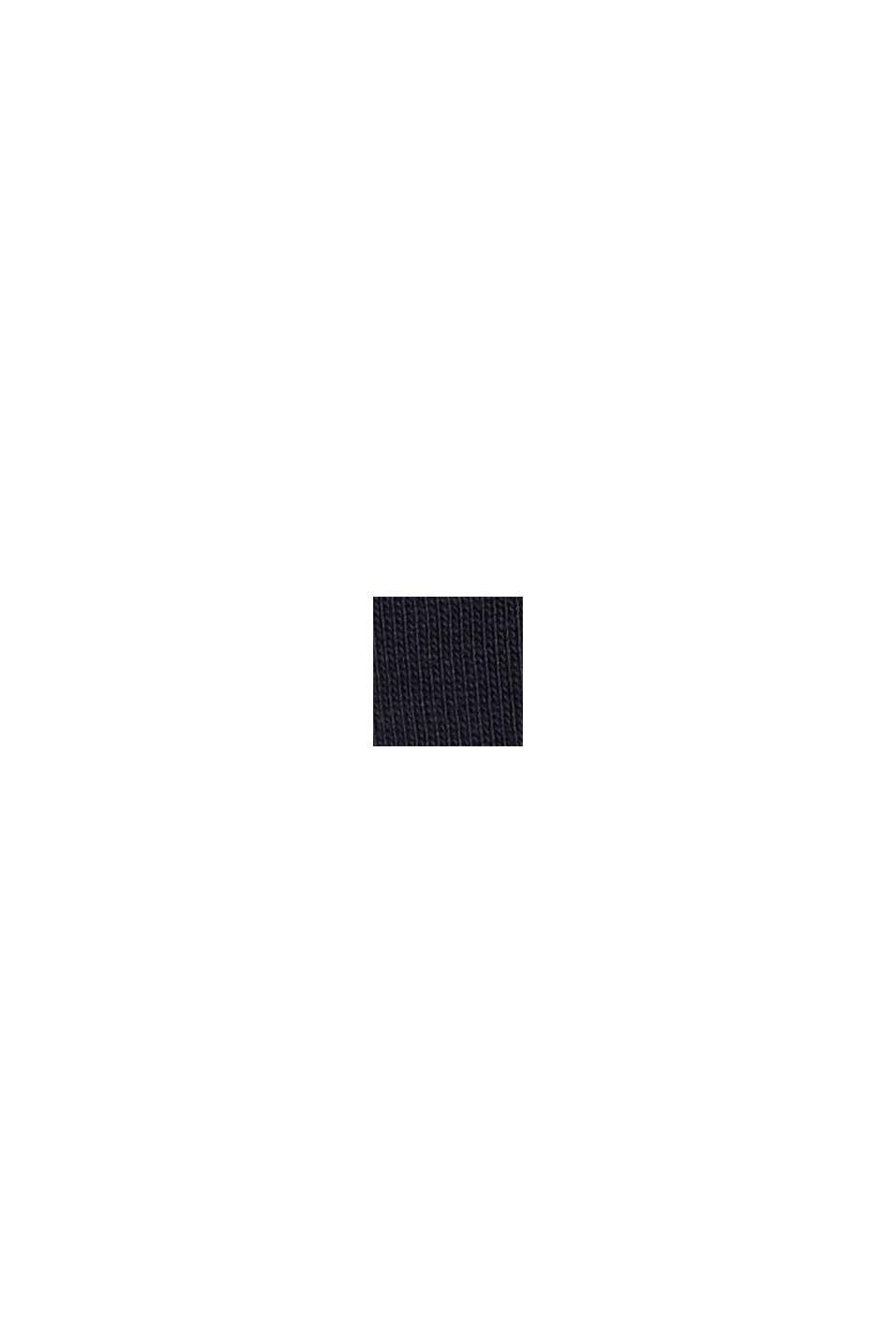 Jersey-Kleid in Midilänge, Organic Cotton, NAVY, swatch