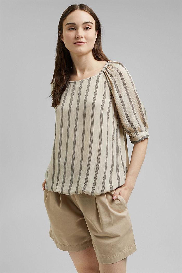 Blusa estampada en LENZING™ ECOVERO™