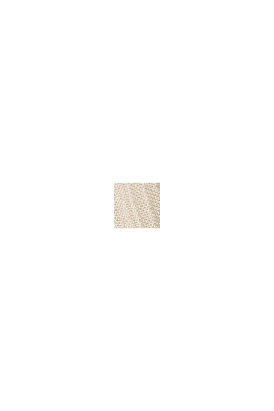 Printtipusero LENZING™ ECOVERO™ -materiaalia, BEIGE, swatch