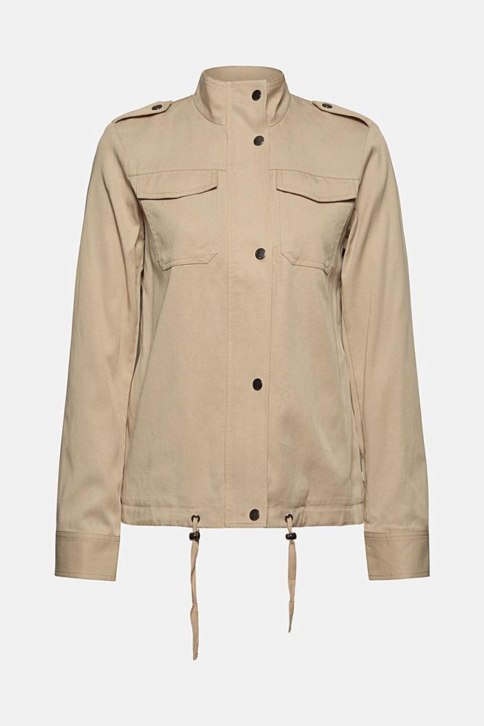 TENCEL™: veste de mi-saison à teneur en lyocell