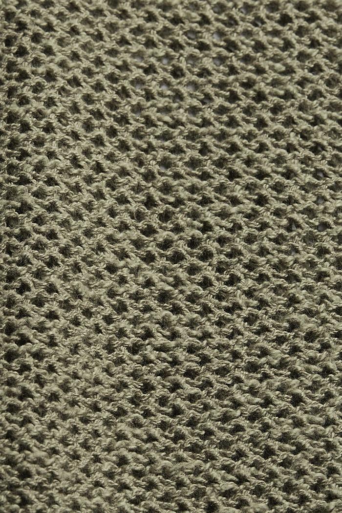 #ReimagineNaturalLifestyle: Pullover mit Leinen, LIGHT KHAKI, detail image number 4