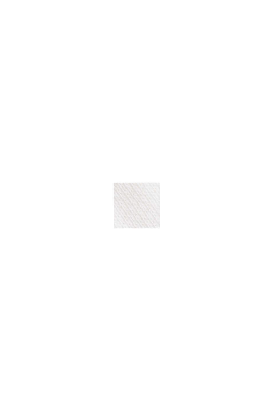 Sweatshirt i 100% ekologisk bomull, OFF WHITE, swatch