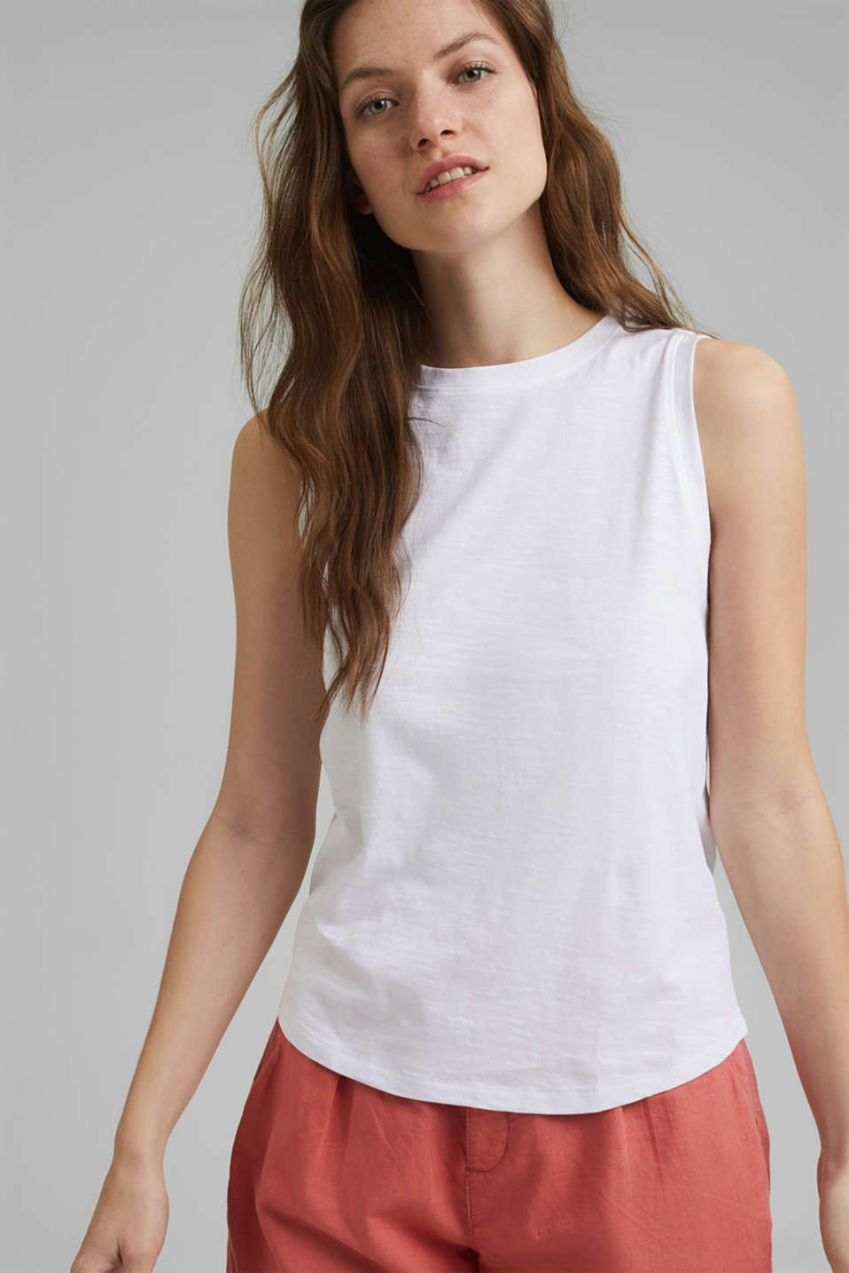 edc - Organic cotton sleeveless top