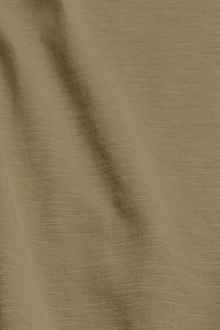 Tanktop van organic cotton, LIGHT KHAKI, detail image number 4
