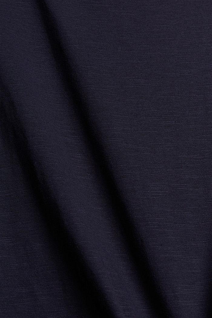 Tank-Top aus Organic Cotton, NAVY, detail image number 4