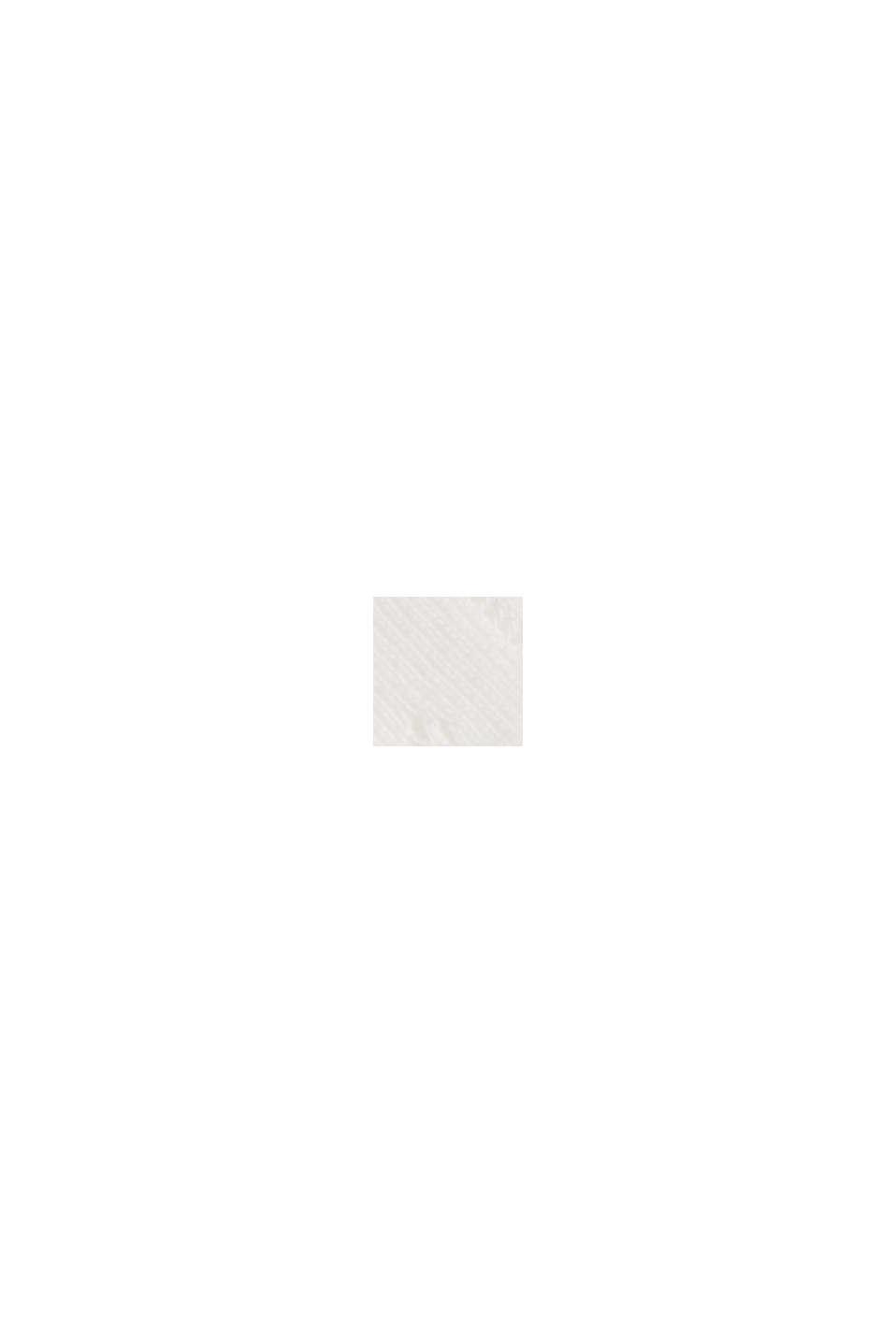 Ajour-Cardigan aus 100% Bio-Baumwolle, OFF WHITE, swatch
