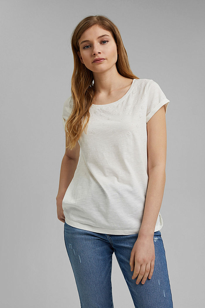 Recycled: Print t-shirt with organic cotton