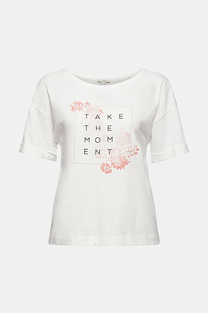 Statement T-shirt made of 100% organic cotton