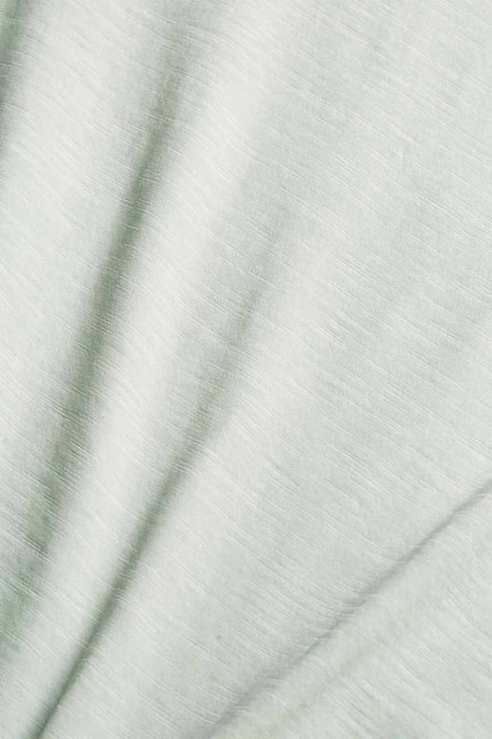 Statement T-shirt made of 100% organic cotton, PASTEL GREEN, detail image number 4
