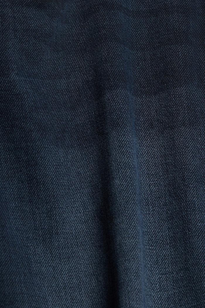Denim shorts made of organic cotton, BLUE DARK WASHED, detail image number 5