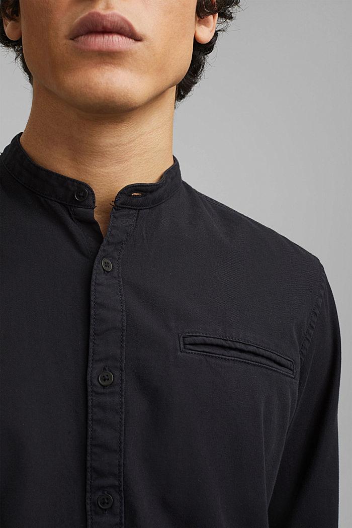 Hemd in Jeans-Optik, Organic Cotton, ANTHRACITE, detail image number 2