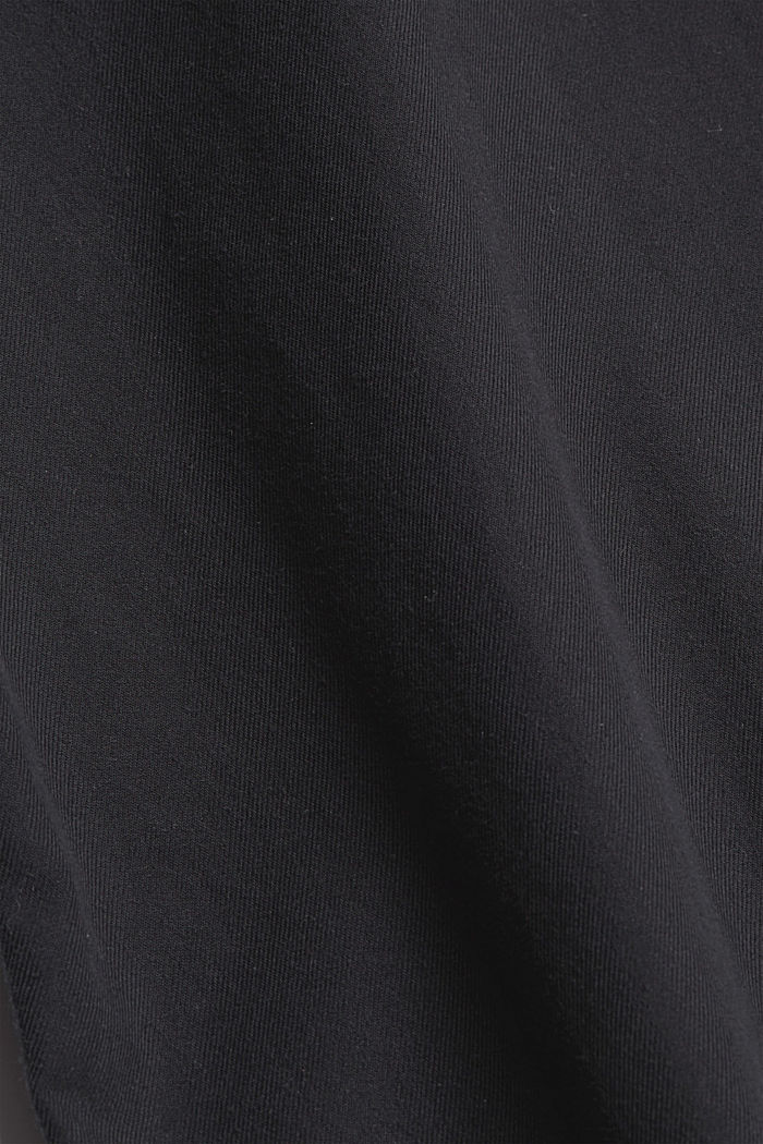 Camicia effetto denim, cotone biologico, ANTHRACITE, detail image number 4