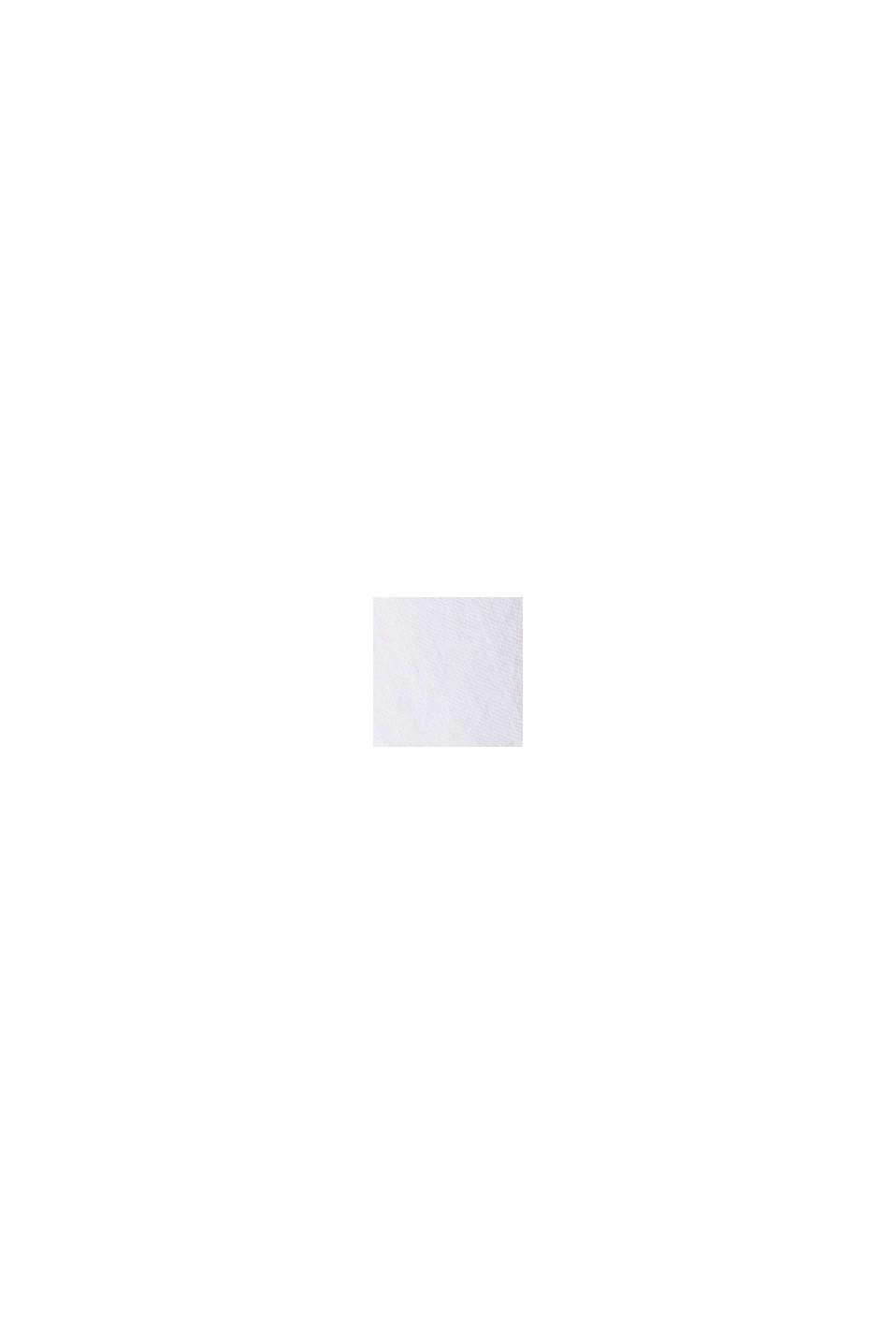 Van biologisch katoen/linnen: overhemd met korte mouwen, WHITE, swatch