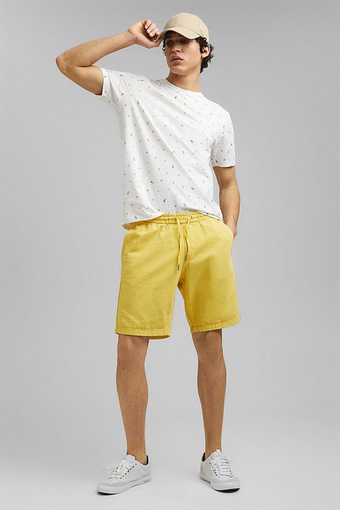 T-Shirt mit Print, 100% Organic Cotton, OFF WHITE, detail image number 2