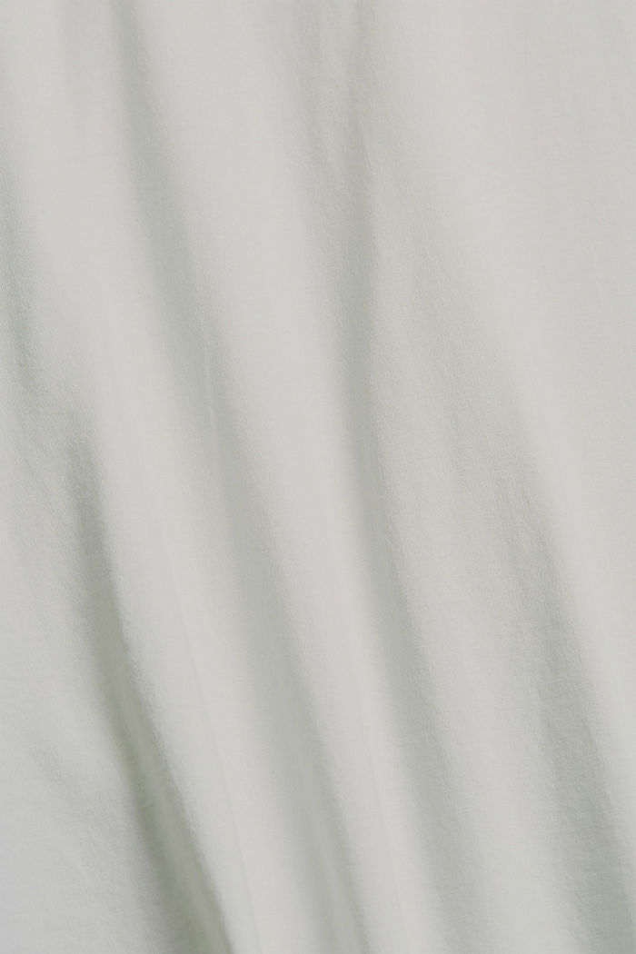 Printed T-shirt, 100% organic cotton, OFF WHITE, detail image number 4