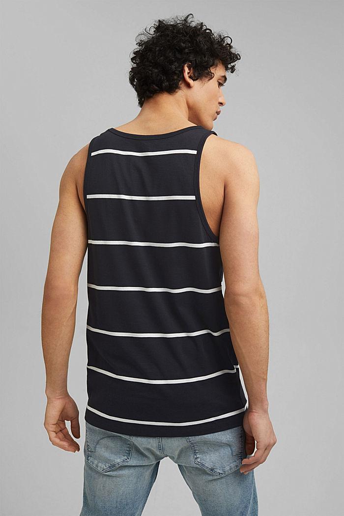 Jersey sleeveless top, 100% organic cotton, BLACK, detail image number 3