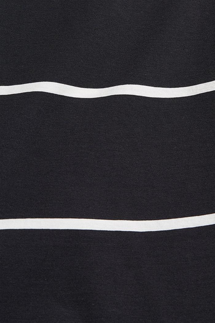 Jersey sleeveless top, 100% organic cotton, BLACK, detail image number 4