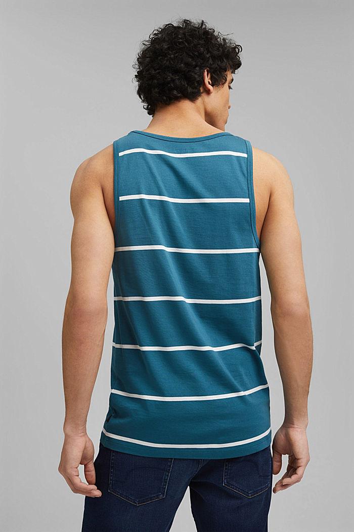 Jersey-Tanktop, 100% Organic Cotton, PETROL BLUE, detail image number 3