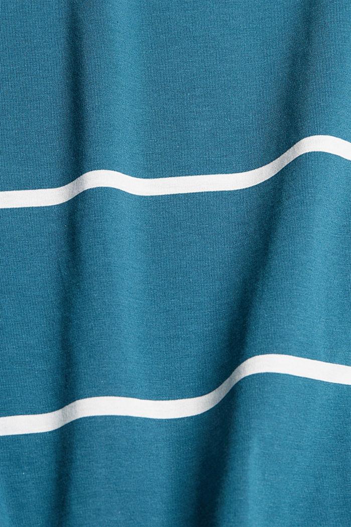 Jersey-Tanktop, 100% Organic Cotton, PETROL BLUE, detail image number 5