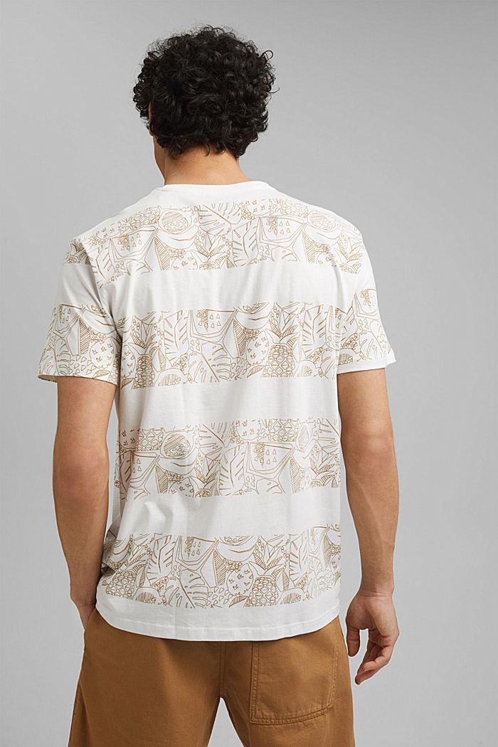 Shirt met print, van 100% organic cotton, OFF WHITE, detail image number 3