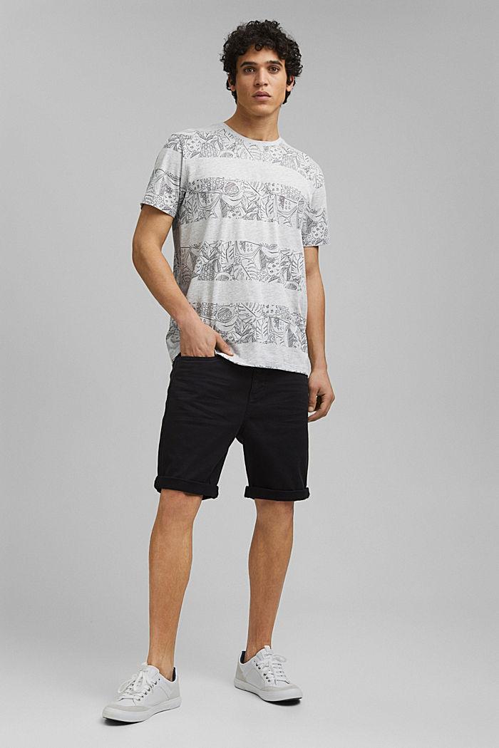 Print-Shirt mit Organic Cotton, LIGHT GREY, detail image number 5