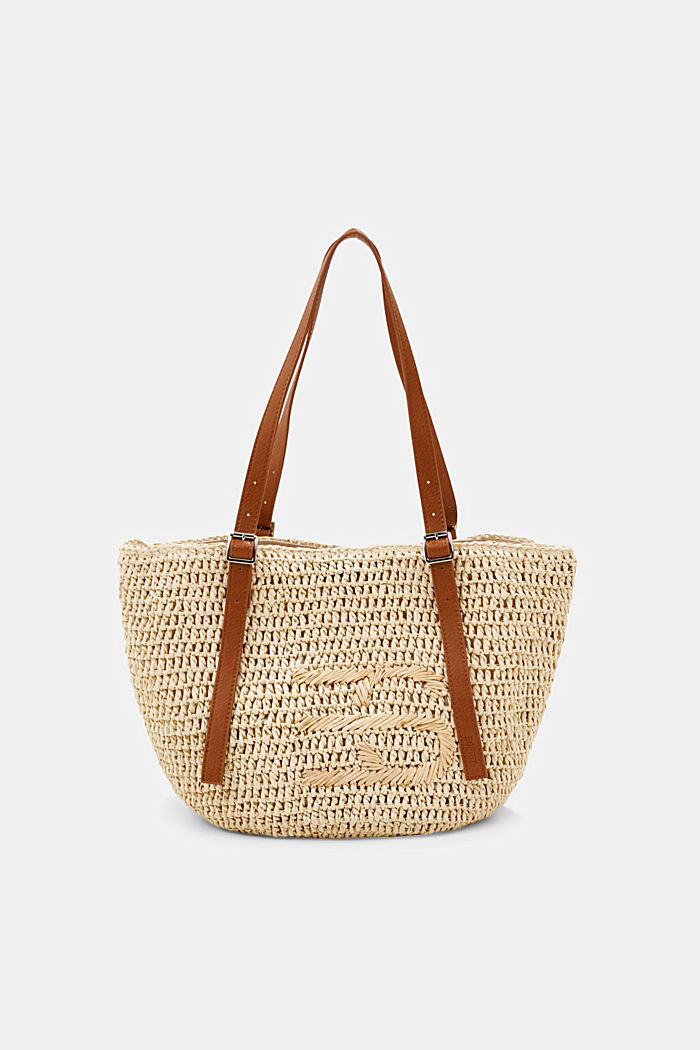 Shopper made of FSC™-certified bast