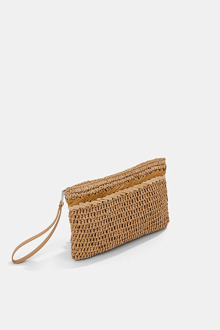 Clutch made of FSC™ certified bast