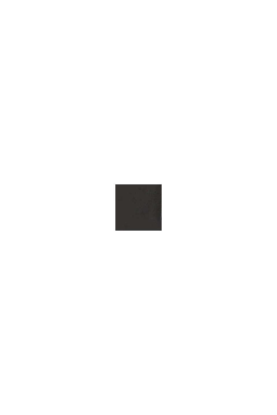 À teneur en lin: la pochette à monogramme, BLACK, swatch
