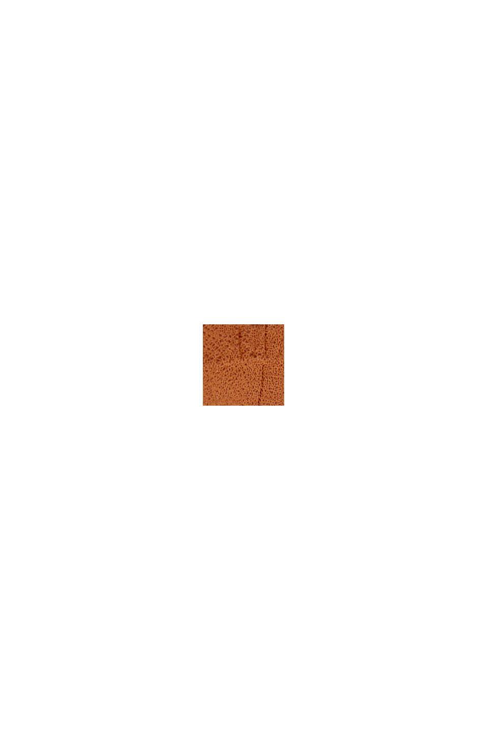 À teneur en lin: la pochette à monogramme, CARAMEL, swatch