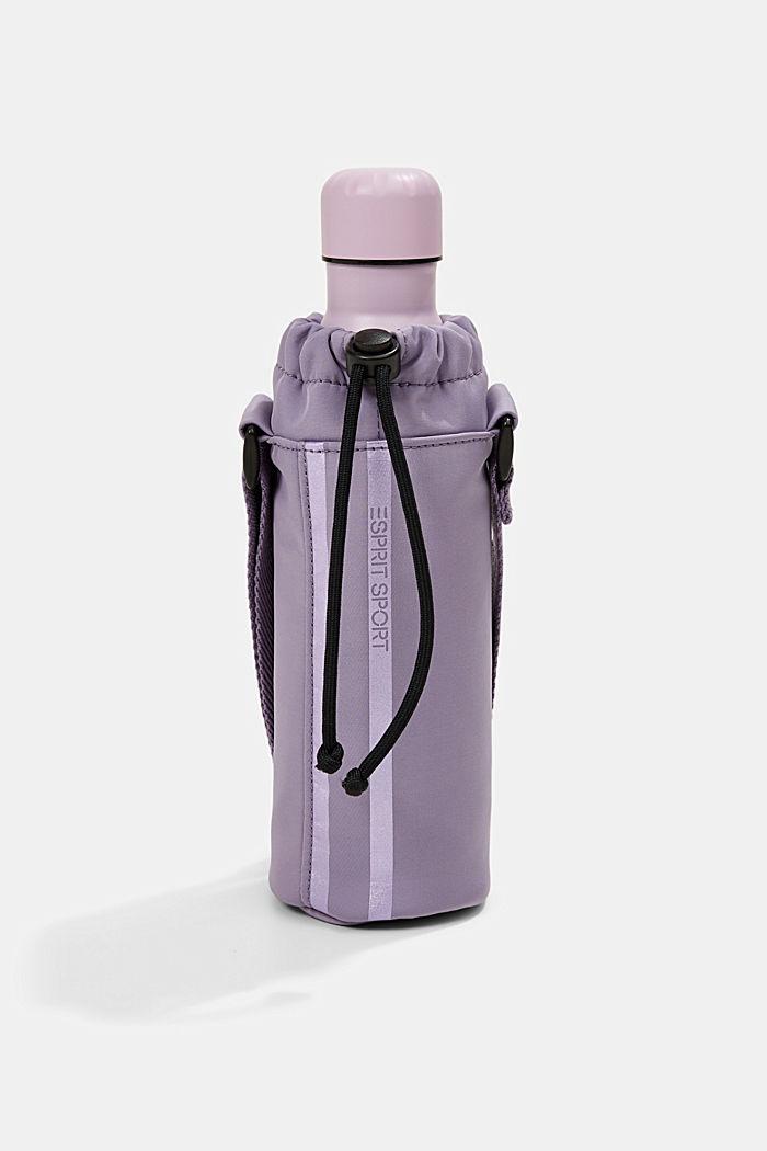 YOGA: bottle sleeve bag, DARK LAVENDER, detail image number 4