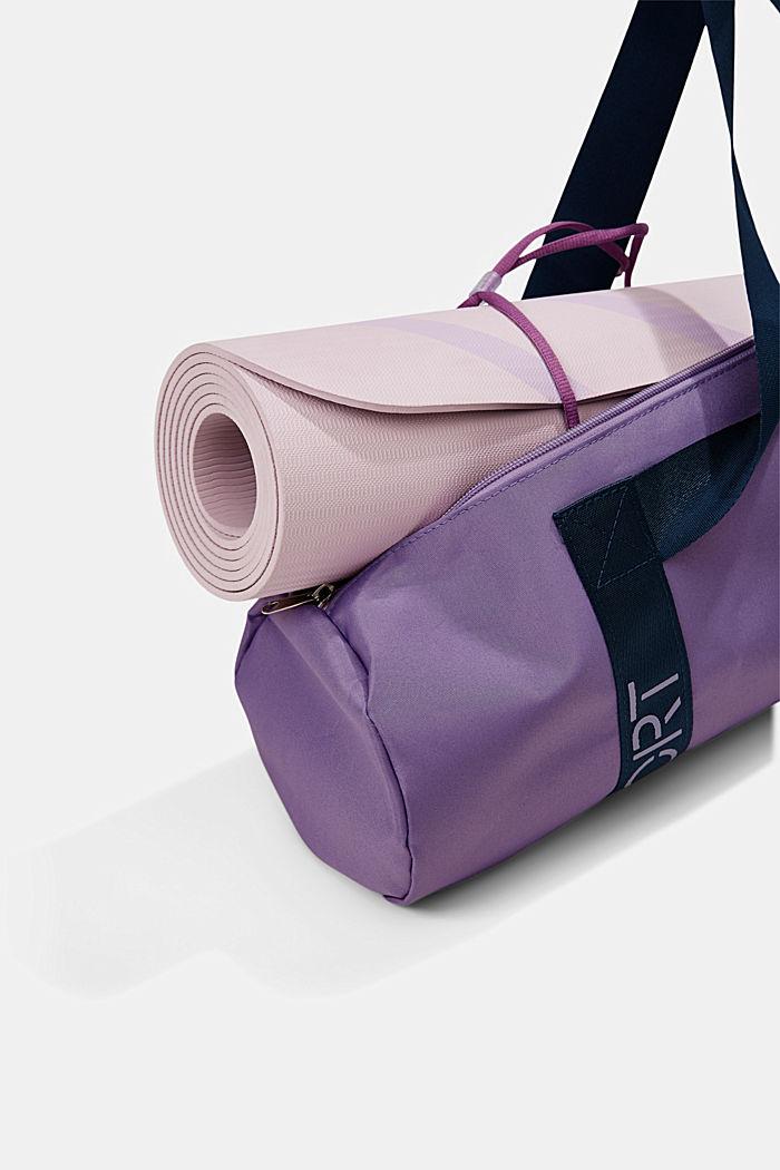 YOGA: torba na matę do jogi, DARK LAVENDER, detail image number 6