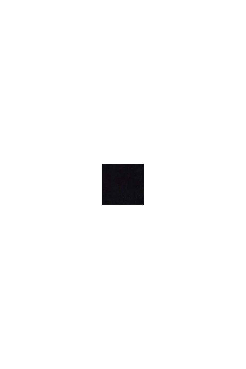 Kabelka crossbody ze semišové kůže, BLACK, swatch