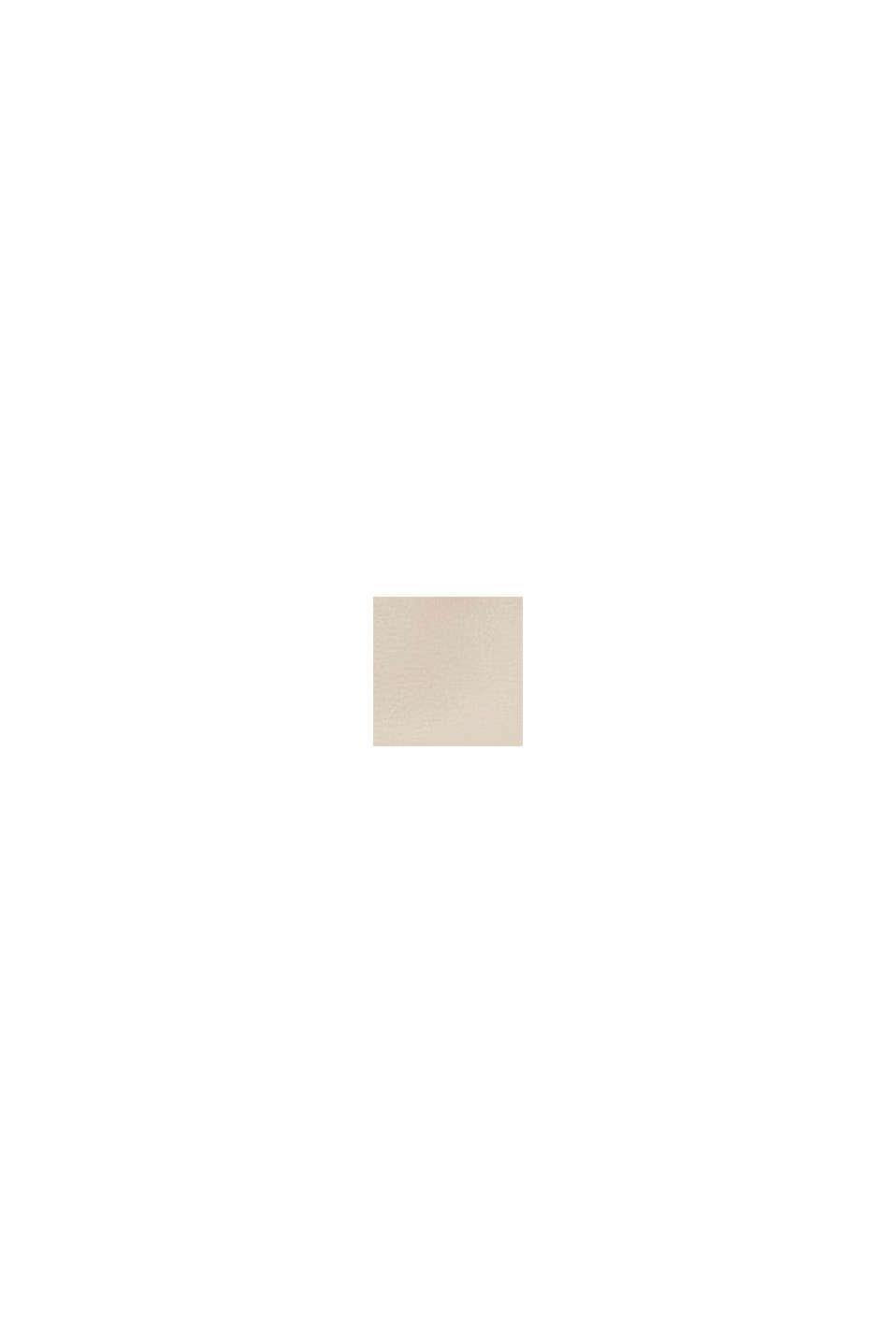 Sac bandoulière Hallie T. de forme baguette, LIGHT BEIGE, swatch