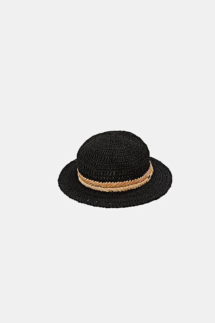 Chapeau en raphia certifié FSC™