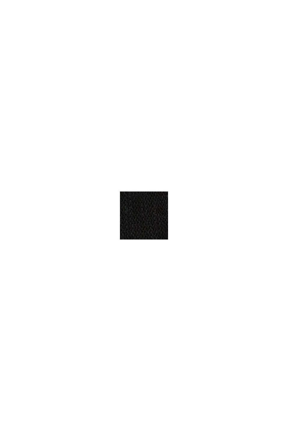 Chapeau trilby en maille, BLACK, swatch
