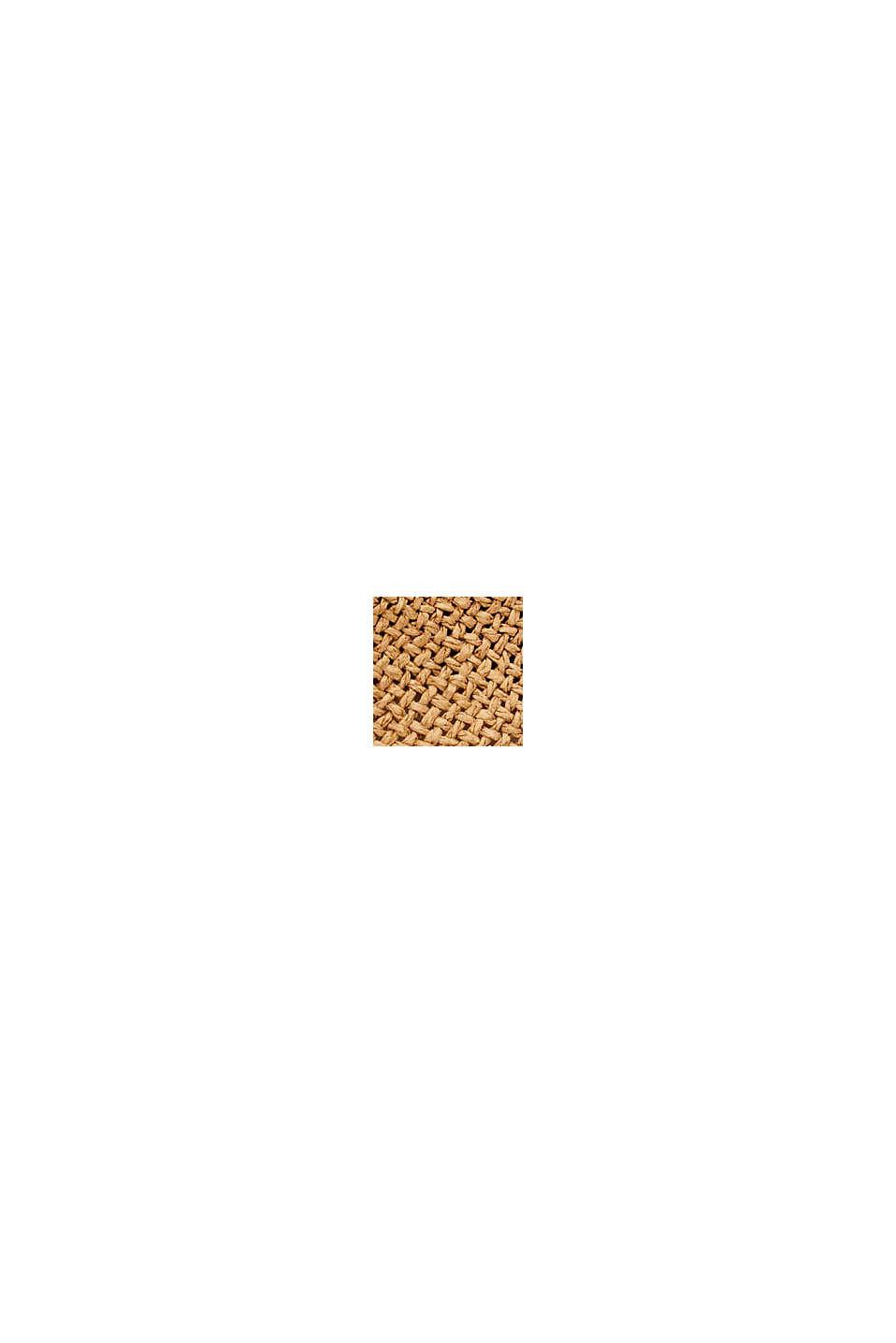 Klobouk trilby ze slámy s certifikací FSC™, CAMEL, swatch