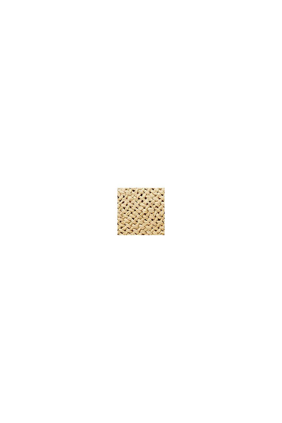 Klobouk z lýka s certifikací FSC™, CREAM BEIGE, swatch