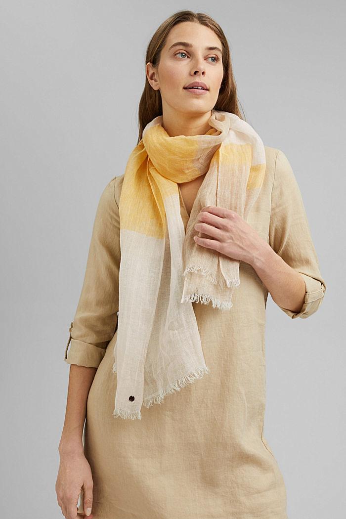 #ReimagineNaturalLifestyle: foulard en lin