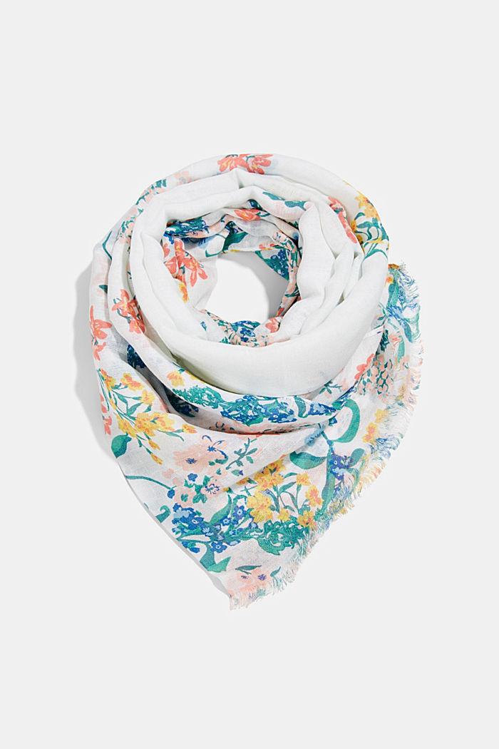 En lin /ECOVERO™: le foulard à imprimé