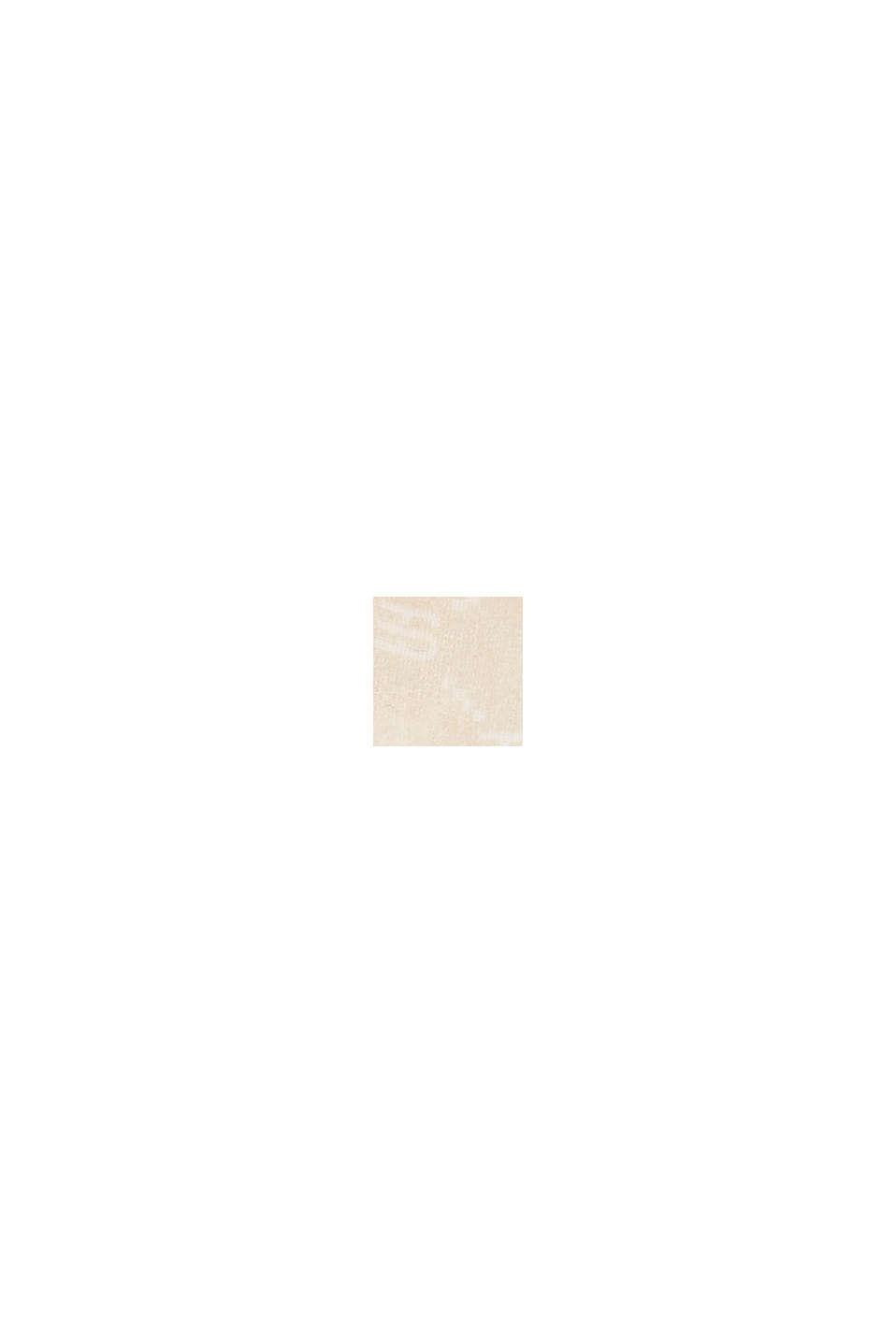 Tuch mit Monogramm-Print, Organic Cotton, SAND, swatch