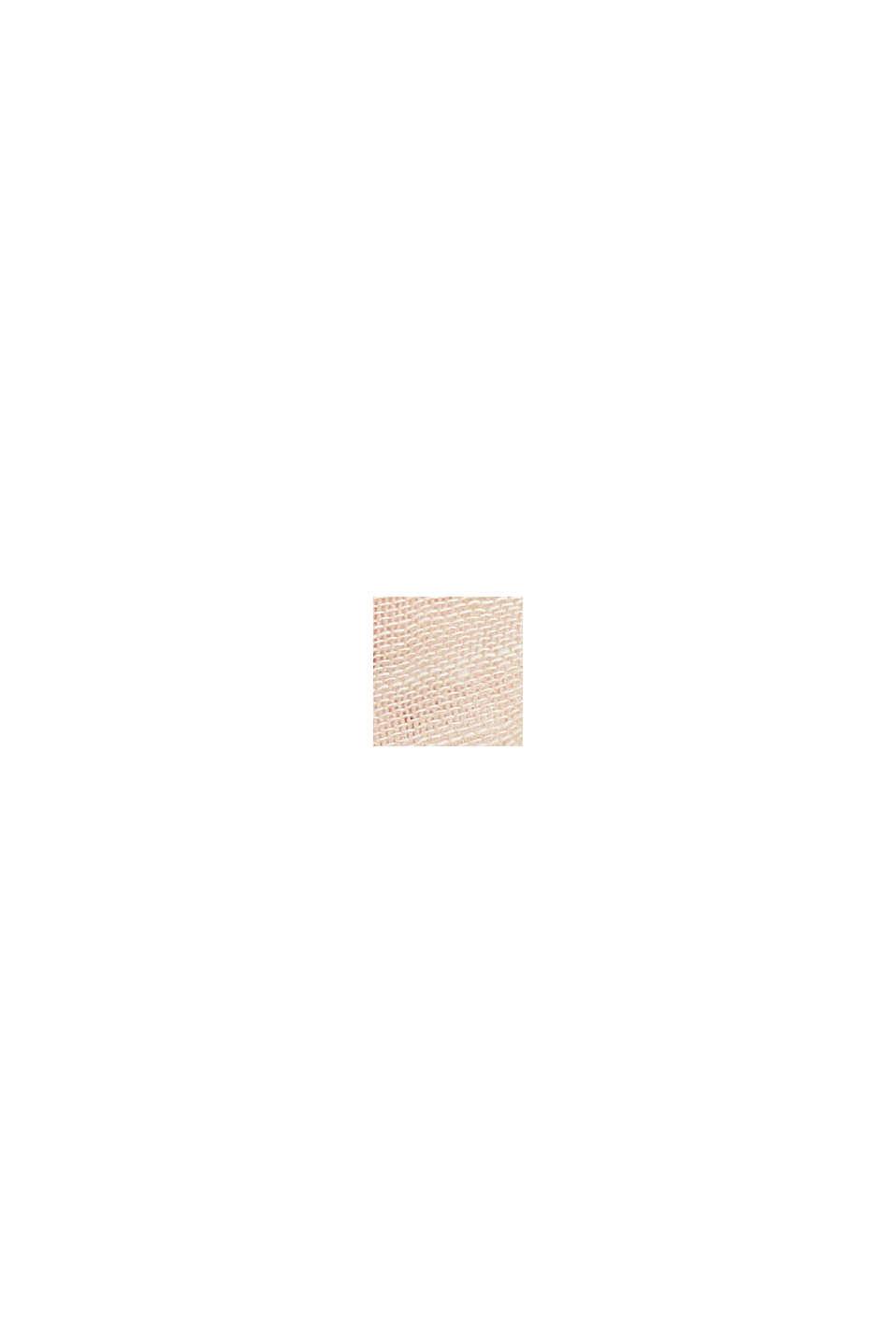 Foulard rayé en coton biologique, SAND, swatch