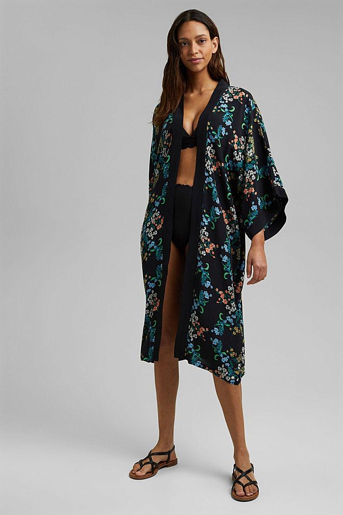 Langer Kimono mit LENZING™ ECOVERO™
