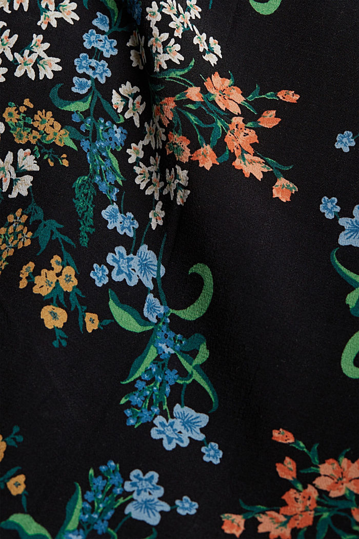 Lange kimono met LENZING™ ECOVERO™, BLACK, detail image number 1